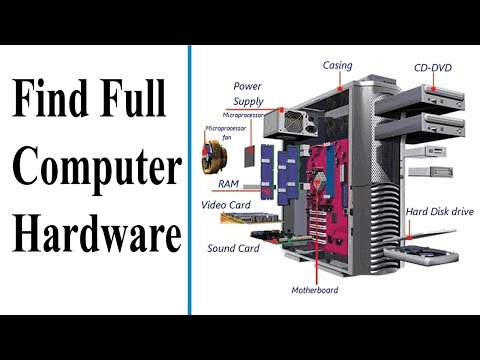 How To Find Full Computer Hardware And Windows Details In Tamil