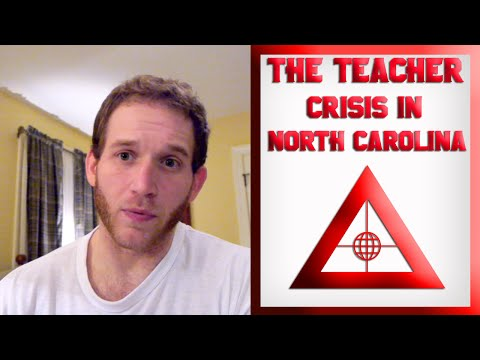 The Teacher Crisis in North Carolina: A firsthand observation