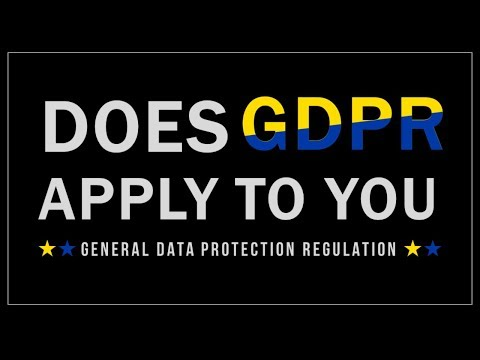 Does GDPR Apply to You