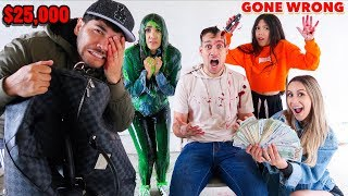 LAST ONE TO SAY NO WINS $25,000- Challenge **GONE WRONG** (Part 2)   Familia Diamond