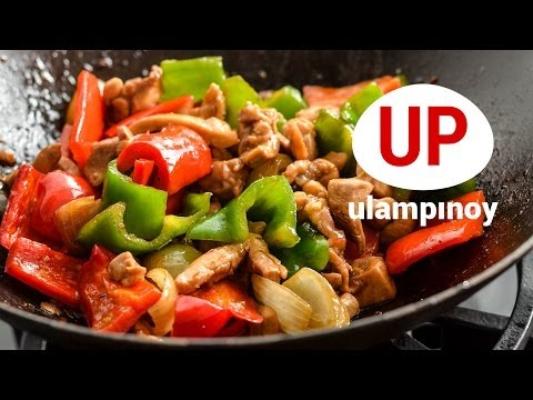 EASY to cook CHICKEN STIR-FRY  — Ulam Pinoy #37