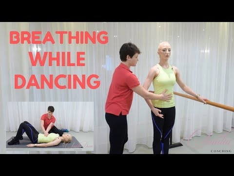 BREATHING WHILE DANCING!