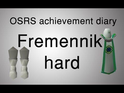[OSRS] Fremennik hard diary tasks guide