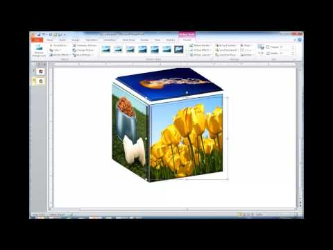 Create a 3D Picture Cube