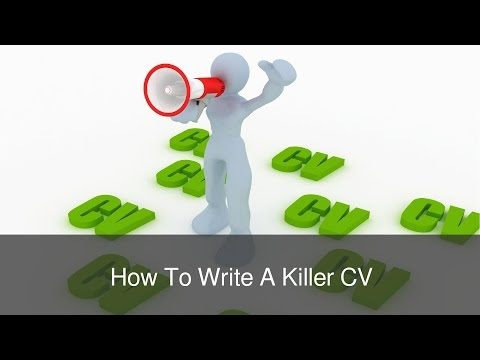 How To Write A Killer CV by FindMyDreamJob.co.uk