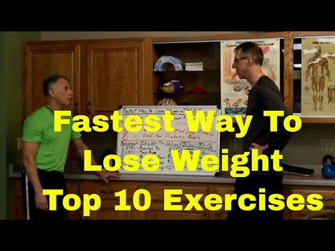 Fastest Way To Lose Weight (Top 10 Exercises)