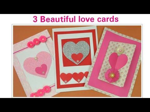 DIY Valentine Cards Handmade Love Greeting Cards For Boyfriend,Valentine's Day Gifts Love Card