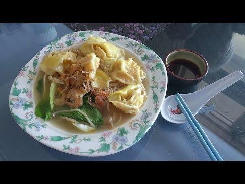 Prawn Wonton Noodles Soup - Hong Kong style