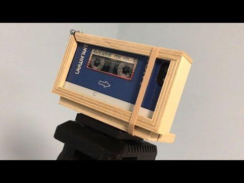 Building a Cellphone Tripod Mount - Timelapse