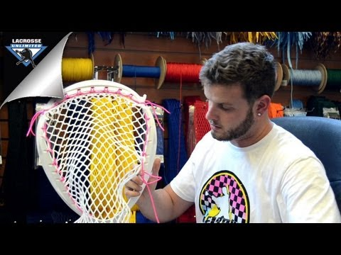 Lacrosse Unlimited: String Session (Goalie Head, Sidewall)