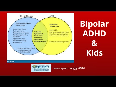 ADHD and Bipolar Disorder in Children