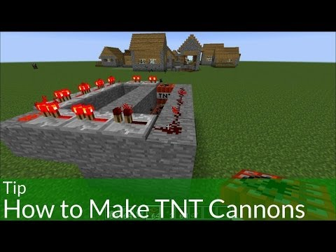 Tip: How to Make a TNT Cannon in Minecraft