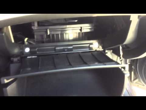 2008-2012 Honda Accord Cabin Air Filter Change