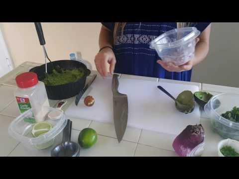Demonstration Speech on how to make Guacamole
