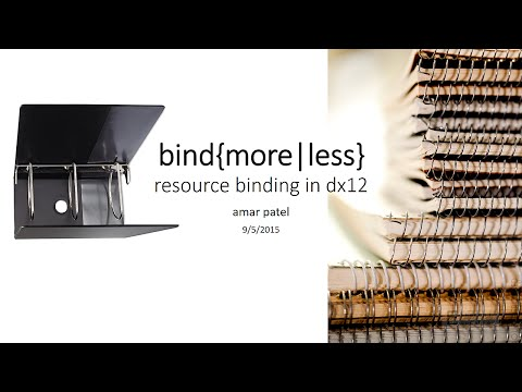Resource Binding in DirectX 12 (pt.1)