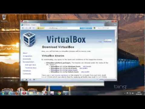 Create a virtual machine in Oracle VM Virtualbox