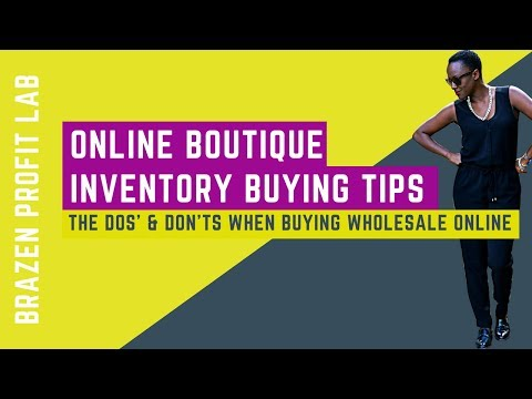 Online Boutique Inventory Tips: Dos & Don'ts When Buying Wholesale Clothing