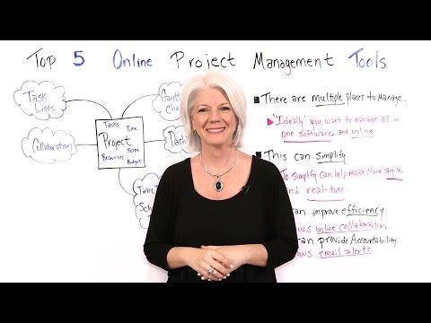 Top 5 Online Project Management Tools - Project Management Training