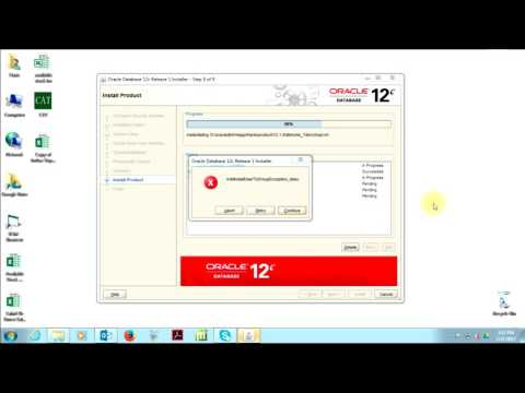 How to Install Oracle Database 12c
