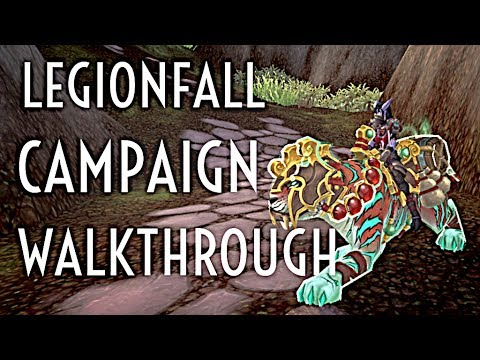 WoW Guide - Quickly obtaining your Class Mount - Legionfall Campaign Walkthrough