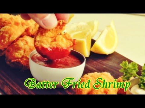 Batter Fried Shrimp - Easy Food Recipes