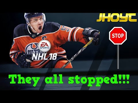 They all stopped!!! | NHL 18 Clips