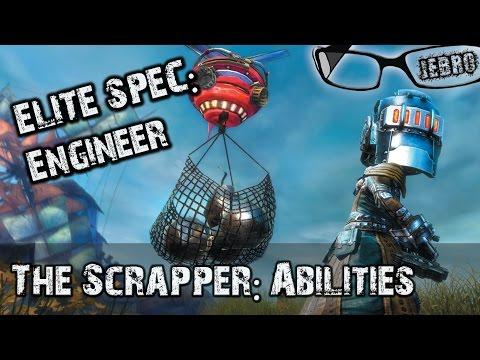 Scrapper Engineer GW2 Weapon Skills, Traits & utilities