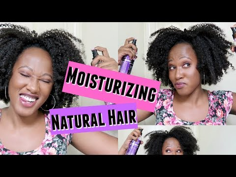 How To: Moisturizing Natural Hair in Crochet Braids