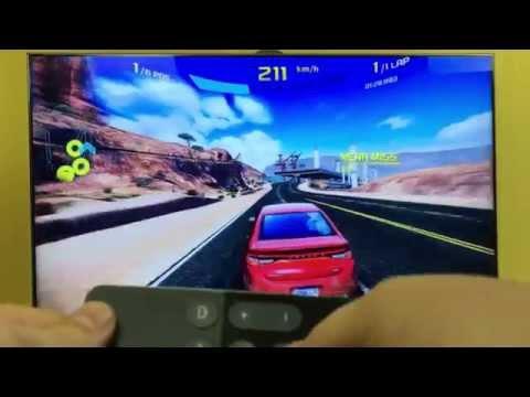 Apple TV4 Games: Asphalt 8 with Siri Remote