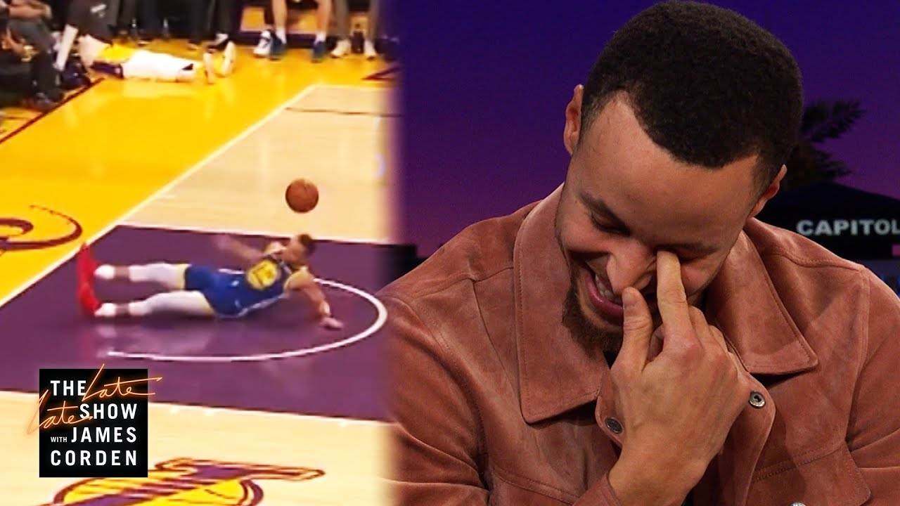 Stephen Curry Explains His Slip & Airball