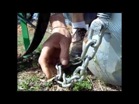Planting Green Beans Using the Hoss Seeder