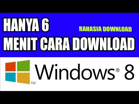 TRIK RAHASIA -  Cara Download WINDOWS 8 32 Bit dan 64 Bit Hanya 6 Menit