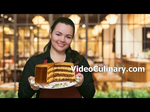 Snickers Cake Recipe - Chocolate Candy Bar - Video Culinary