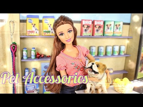 DIY - How to Make:  Doll Pet Shop Accessories - Handmade - Doll - Crafts