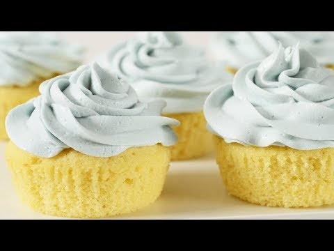 Vanilla Cupcakes Recipe Demonstration - Joyofbaking.com