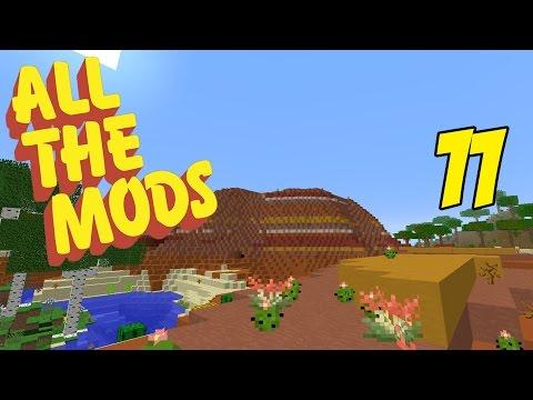 Modded Minecraft All The Mods 1.10.2 Episode 11 - Mesa Biome & Village