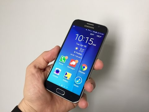 How to Use Samsung Galaxy S6 Easy Mode
