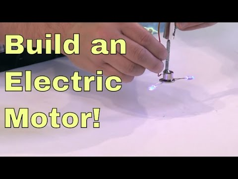 DIY | Build a Simple Electric Motor!