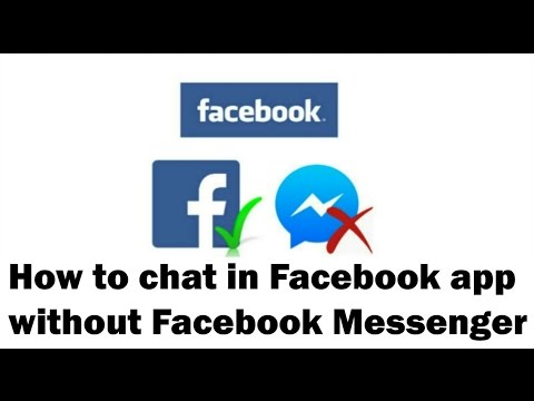 How to Chat in Facebook app without Facebook Messenger on Android