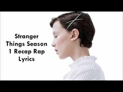 Stranger Things Recap Rap Song Millie Bobby Brown [LYRICS]