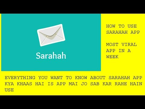 HOW TO KNOW WHO TEXTED YOU ON SARAHAH APP(EVERYTHING YOU WANT TO KNOW ABOUT SARAHAH APP)