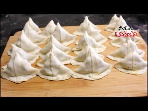 Samosa Recipe -Khasta  Aloo Samosa Recipe By Cook with Madeeha