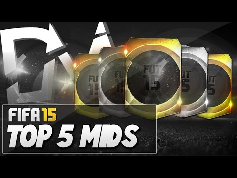 Top 5 Best Midfielders (CM & CDM)  in FIFA 15 Ultimate Team  - Guide to Best Squad (FUT 15)