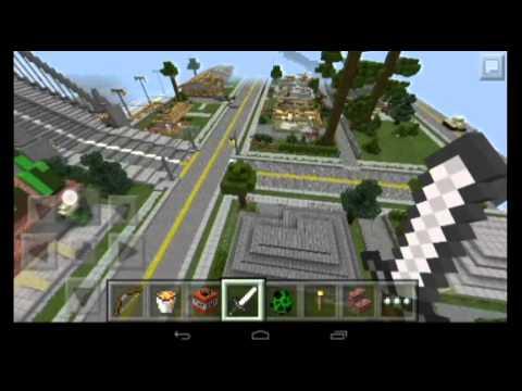 Minecraft pe gta San Andreas wreck