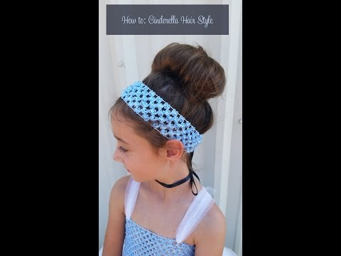 How to Make Cinderella Hair Style. Styling Your Hair like Cinderella