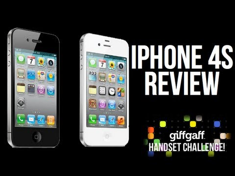 iPhone 4S Review - GiffGaff Competition