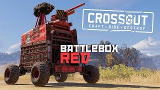 Crossout - UPDATE! NEW RELICS & NEW GARAGE! Typhoon Cannon