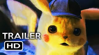 POKEMON DETECTIVE PIKACHU Official Trailer (2019) Ryan Reynolds Live-Action Pokémon Movie HD