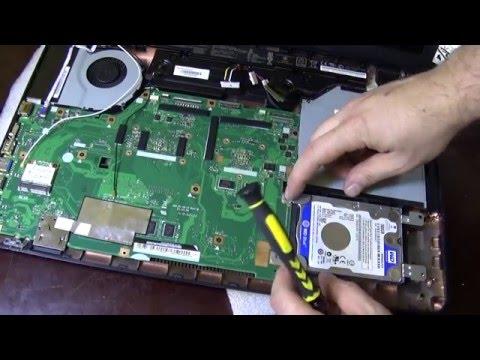 Как разобрать ноутбук Asus R752 series How to disassemble laptop Asus R752 series