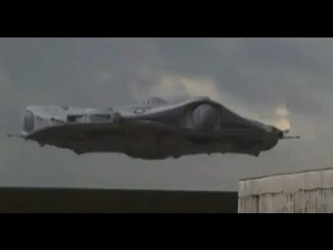 UFO Scout Ship Lands In New Mexico? 2012 HD